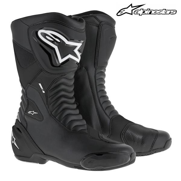 信頼 送料無料 alpinestars 国内正規総代理店アイテム SMX-S 2223517 レーシングブーツ BLACK