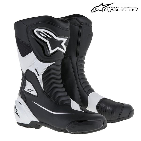 alpinestars SMX-S レーシングブーツ 2223517 (BLACK/WHITE)