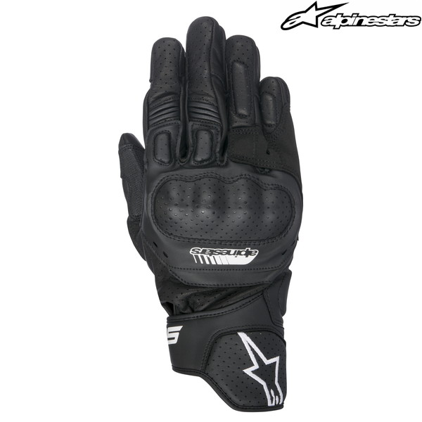 alpinestars SP-5 LEATHER GLOVE 3558517 レザーグローブ (BLACK)