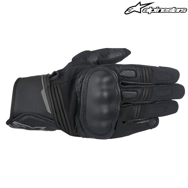 alpinestars BOOSTER GLOVE 3566917 レザーグローブ (BLACK/ANTHRACITE)