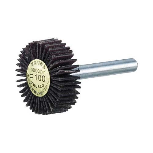 TRUSCO TRUSCO ダイヤ軸付フラップ オールダイヤ 外径50×軸径6 100# P-DF5020-6A 2168103【smtb-s】