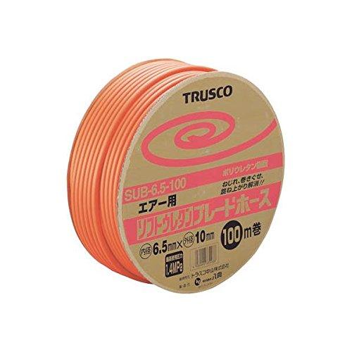 TRUSCO TRUSCO ソフトウレタンブレードホース 6.5×10mm 100m ドラム巻 SUB-6.5-100 2280132【smtb-s】