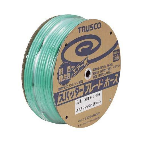 TRUSCO TRUSCO スパッタブレードチューブ 6.5×10mm 100m ドラム巻 SPB-6.5-100 1526782【smtb-s】