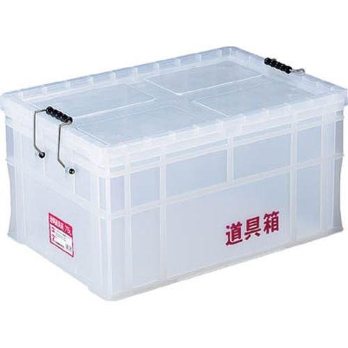 リス(リス興業) 透明道具箱 75L N-75L 2768798【smtb-s】