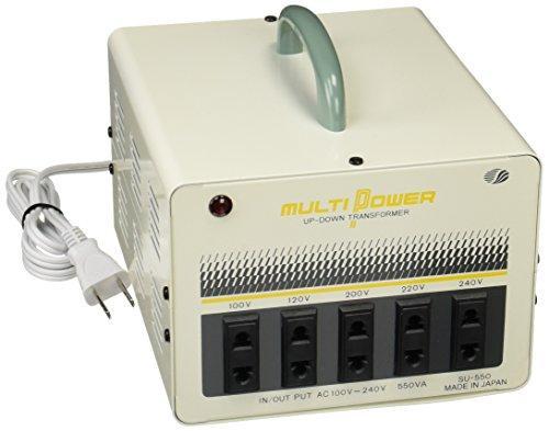 スワロー電機 SU-550 スワロー 世界対応マルチ変圧器550W (8041j)【smtb-s】