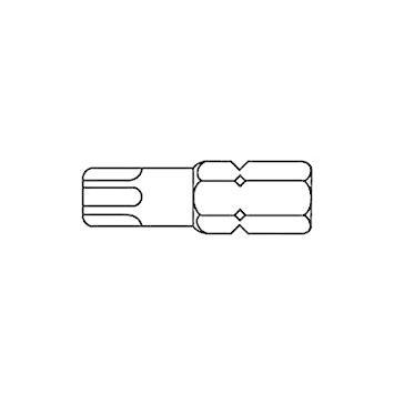 サンコーインダストリー TORXビット(No.A5)ベッセル製 A5T45【smtb-s】