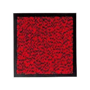 山崎産業 ロンステップマット(ランナー90cm幅)赤黒 F-1-RS【843-2437】【smtb-s】