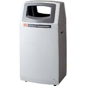 山崎産業 リサイクルボックス アークラインL-1(もえるゴミ) YW-140L-PC【843-3501】【smtb-s】