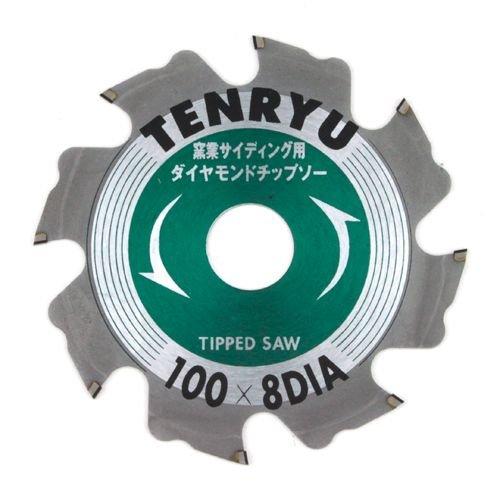 TENRYU TENRYU 窯業サイディングチップソー 100X8D 308501【smtb-s】