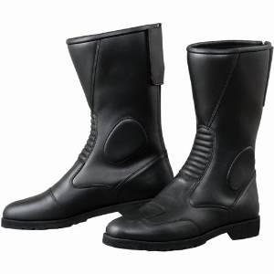 KOMINE K202 BACK ZIPPER BOOTS  BLK 27.5 05-114/BK/27.5【smtb-s】