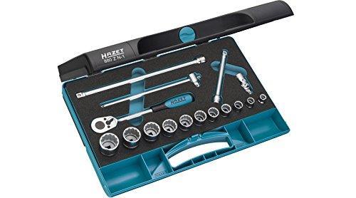 【送料無料】 HAZET(ハゼット) HAZET ソケットレンチセット(12角タイプ・差込角9.5mm) 880ZN1 4395492【smtb-s】