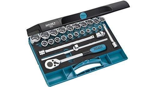 HAZET(ハゼット) HAZET ソケットレンチセット(6角タイプ・差込角12.7mm) 900 4395719【smtb-s】