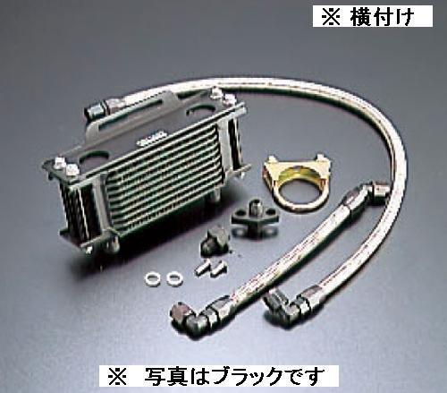 EARLS/14053507B OILクーラーKIT ( 横 ) ストレート #6 4.5-7R BLK仕様 SR400 -05/SR500 -00
