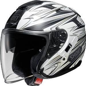 SHOEI ヘルメット J-CRUISE CLEAVE TC-6 WH/GRY S【smtb-s】