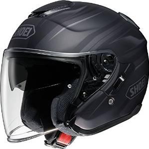 SHOEI ヘルメット J-CRUISE PASSE TC-5 BK/SL XL【smtb-s】