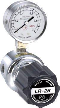 ヤマト産業 分析機用ライン圧力調整器 LR-2B L1タイプ LR2BRL1TRC【smtb-s】