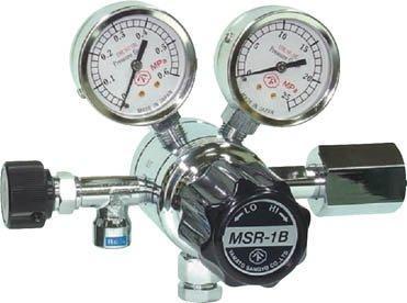 ヤマト産業 分析機用二段圧力調整器 MSR-1B MSR1B13TRC【smtb-s】