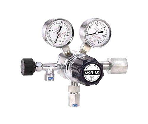ヤマト産業 分析機用二段圧力調整器 MSR-1S MSR1S11TRC