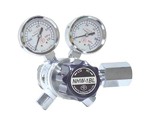 ヤマト産業 分析機用フィン付二段微圧調整器 NHW-1BL NHW1BLTRC【smtb-s】
