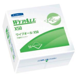 クレシア ワイプオールX50 4つ折りタイプ 50枚×18袋入NCGJ0577928-3909-01【smtb-s】