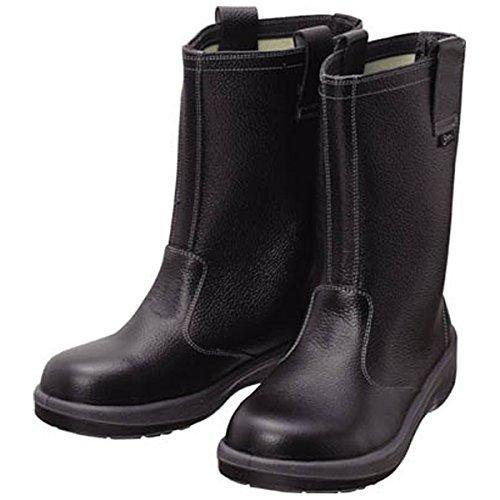 シモン 安全靴 半長靴 7544黒 23.5cm 7544N23.5【smtb-s】