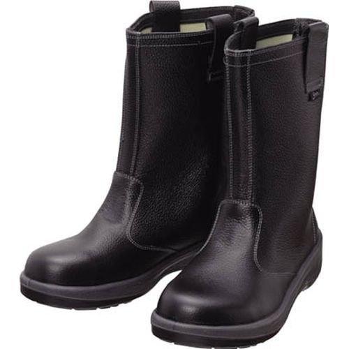 シモン 安全靴 半長靴 7544黒 27.0cm 7544N27.0【smtb-s】