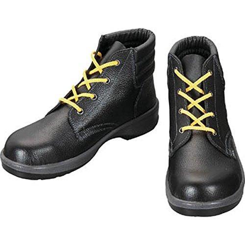 シモン 静電安全靴 編上靴 7522黒静電靴 24.5cm 7522S24.5【smtb-s】