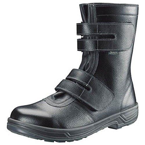 シモン 安全靴 長編上靴マジック式 SS38黒 24.5cm SS3824.5【smtb-s】