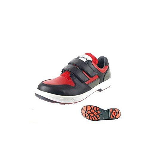 ロード安全工業 シモン安全靴 トリセオシリーズ 短靴 赤/黒 25.0 8518赤BK25.0【smtb-s】