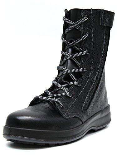 シモン 安全靴 長編上靴 WS33黒C付 25.5cm WS33C25.5【smtb-s】