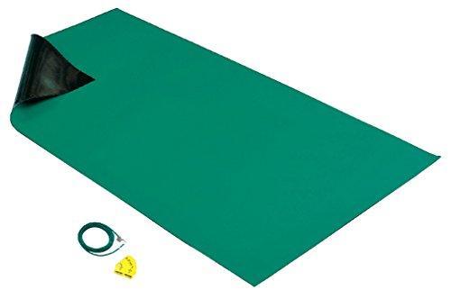 ホーザン HOZAN 導電性カラ-マット 1×1.8M グリーン 補強繊維入り F757【smtb-s】