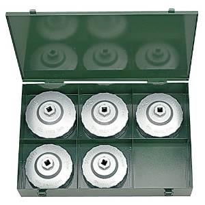 京都機械工具 KTC 大径用カップ型オイルフィルタレンチセット[5コ組] AVSA5 3730808【smtb-s】