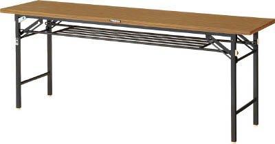 トラスコ中山(TRUSCO) TRUSCO 折りたたみ会議テーブル 900X450 安全ストッパー付 TSM0945【smtb-s】