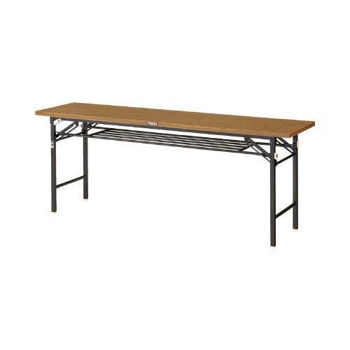 トラスコ中山(TRUSCO) TRUSCO 折りたたみ会議テーブル 1800X450 安全ストッパー付 TSM1845【smtb-s】