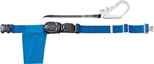 トラスコ中山(TRUSCO) TRUSCO 巻取り式安全帯1本つり専用 幅50mmX長さ1200mm ブルー GROT593B【smtb-s】