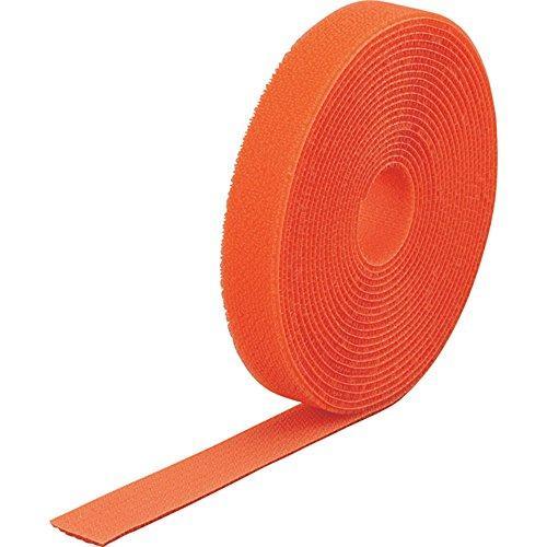 トラスコ中山(TRUSCO) TRUSCO マジック結束テープ 両面 オレンジ 40mm×25m MKT40250OR【smtb-s】