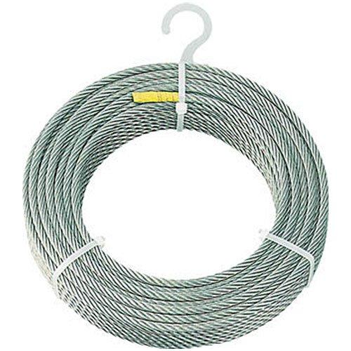 トラスコナカヤマ TRUSCO ステンレスワイヤロープ Φ6mmX100m CWS6S100【smtb-s】