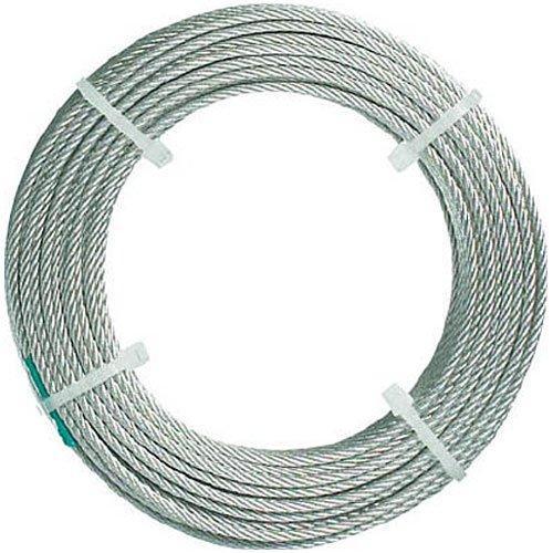 トラスコナカヤマ TRUSCO ステンレスワイヤロープ ナイロン被覆 Φ2.0(2.5)mmX10 CWC2S100【smtb-s】