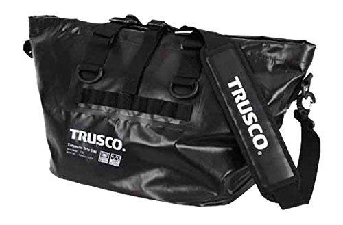 トラスコ中山(TRUSCO) TRUSCO 防水ターポリントートバッグ Lサイズ ブラック TTBLBK【smtb-s】