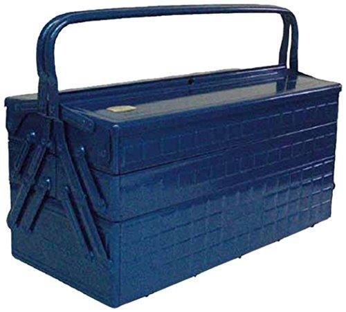 トラスコ中山(TRUSCO) TRUSCO 3段式工具箱 472X220X343 ブルー GT470B【smtb-s】