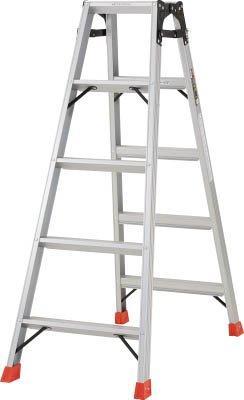 TRUSCO はしご兼用脚立 アルミ合金製脚カバー付 高さ1.40m TPRK150【smtb-s】