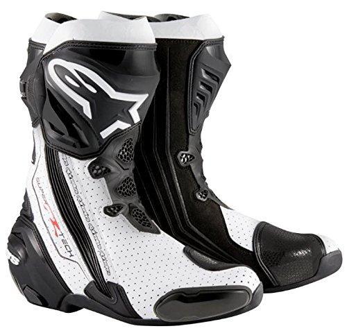 alpinestars(アルパインスターズ) 【必ず購入前に仕様をご確認下さい】SUPERTECH-R ブーツ BK WHT VEN 43【smtb-s】
