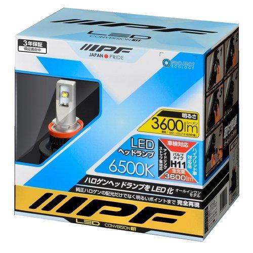 IPF IPF LEDヘッド H11 65K  301HLB 316310【smtb-s】