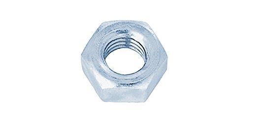 サンコーインダストリー 六角ナット(1種)(細目) 表面処理(ユニクロ(六価-光沢クロメート) ) 規格( M27ホソメ2.0) 入数(50)