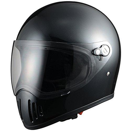 シレックス 【必ず購入前に仕様をご確認下さい】RAIZIN フルフェイスヘルメット P/BK M (ZS728-PBM)【smtb-s】