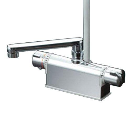 KVK デッキ型サーモスタット式シャワー 取付ピッチ120mm 吐水口L=300mmKF771YTR3【smtb-s】