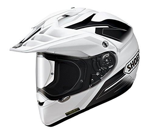 SHOEI 【必ず購入前に仕様をご確認下さい】HORNET ADV SEEKER TC-6 WHITE/BLACK L【smtb-s】