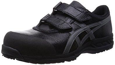 オタフク asicsworking 安全靴 作業靴 ウィンジョブ 70S ブラック/ガンメタ 26.5cm (FFR70SBG265) 【必ず購入前に仕様をご確認下さい】【smtb-s】