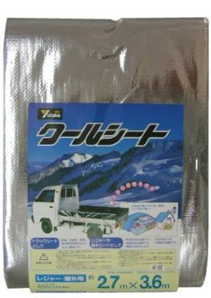 ユタカメイク ユタカ B-18 クールシート 2.7mX3.6m【smtb-s】