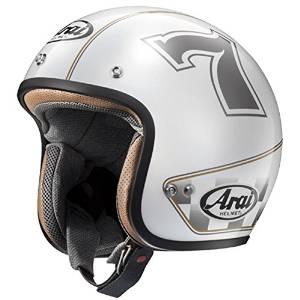 アライ(ARAI) AXYヘルメット CLASSIC MOD カフェレーサー WH 61-62 XL【smtb-s】